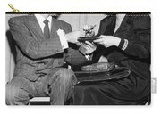 Frank Sinatra Signs For Fan Carry-all Pouch
