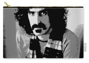 Frank Zappa - Chalk And Charcoal 2 Carry-all Pouch by Joann Vitali