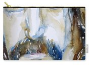 Frank Zappa Watercolor Portrait.2 Carry-all Pouch