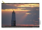 Frankfort North Breakwater Lighthouse Carry-all Pouch