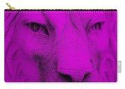 Frankie Lion Purple Carry-all Pouch