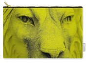 Frankie Lion Yellow Carry-all Pouch