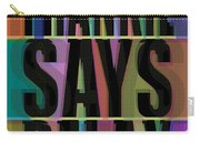 Frankie Says Relax Frankie Goes To Hollywood Carry-all Pouch