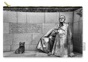 Franklin Delano Roosevelt Memorial Carry-all Pouch by Allen Beatty