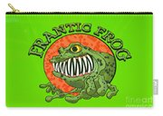 Frantic Frog Carry-all Pouch