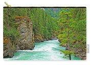 Fraser River Beyond Overlander Falls Along Yellowhead Highway-bc Carry-all Pouch