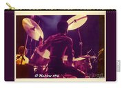 Freddie White Playing Drums Spirit Tour Carry-all Pouch