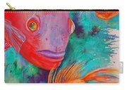 Freddy Fish And Friends Carry-all Pouch