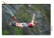 Free As A Bird Bungee Jumping Carry-all Pouch