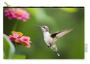 Free As A Bird Hummingbird Carry-all Pouch