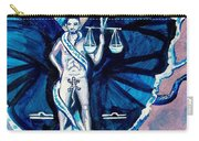 Free As A Libra Carry-all Pouch
