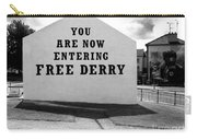 Free Derry Corner 9 Carry-all Pouch