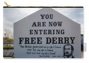 Free Derry Corner, Republican Political Carry-all Pouch