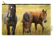 Free Happy Horse Joy On Samsoe Island Denmark  Carry-all Pouch