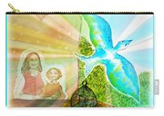 Free Spirit Dreamscape - Within Border Carry-all Pouch
