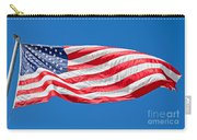 Freedom American Flag Art Prints Carry-all Pouch