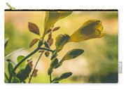 Freesia Carry-all Pouch by Marco Oliveira