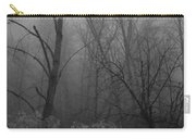 Freezing Rogue Valley Fog At Night Carry-all Pouch