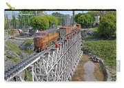 Freight Train Bridge Crossing Carry-all Pouch