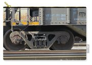 Freight Train Wheels 1 Carry-all Pouch