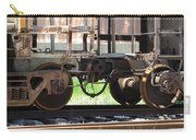 Freight Train Wheels 13 Carry-all Pouch