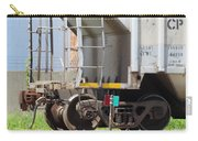 Freight Train Wheels 9 Carry-all Pouch