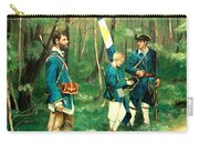 French And Indian War Carry-all Pouch
