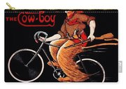 French Bicycles Carry-all Pouch