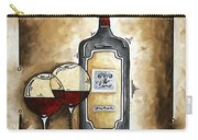 French Bordeaux Original Madart Painting Carry-all Pouch