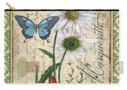 French Botanical Damask-d Carry-all Pouch