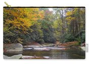 French Broad River In Fall Carry-all Pouch