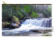 French Broad River Waterfall Carry-all Pouch