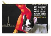 French Bulldog Art - Una Parigina Movie Poster Carry-all Pouch