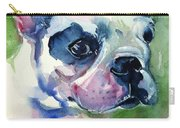 French Bulldog Painting Carry-all Pouch