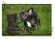 French Bulldogs Carry-all Pouch by Heike Hultsch