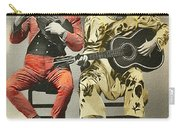 French Clown Musicians Vintage Art Reproduction Tint Carry-all Pouch