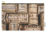 French Corks Carry-all Pouch