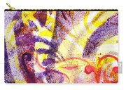 French Curve Abstract Movement II Carry-all Pouch