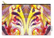 French Curve Abstract Movement Vi Mystic Flower Carry-all Pouch