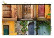 French Doors Carry-all Pouch by Inge Johnsson