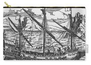 French Galley Operating In The Ports Of The Levant Since Louis Xi  Carry-all Pouch