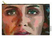 French Gypsy Girl Carry-all Pouch
