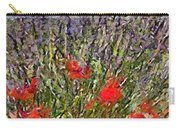 French Lavender Field Carry-all Pouch
