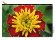 French Marigold Named Solan Carry-all Pouch