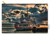 French Naval Frigate Carry-all Pouch