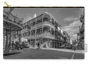 French Quarter Afternoon Bw Carry-all Pouch by Steve Harrington
