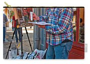 French Quarter Artist Carry-all Pouch by Steve Harrington