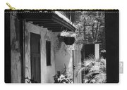 French Quarter Courtyard Carry-all Pouch