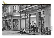 French Quarter - Hangin' Out Bw Carry-all Pouch by Steve Harrington