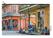 French Quarter - Hangin' Out Carry-all Pouch